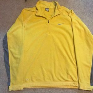 Nike fleece 1/4 zip sweater